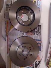 NEW MINTEX FRONT VENTED BRAKE DISCS SET PAIR - MDC998 X 2