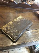 Vintage Snakeskin Purse Wallet Clutch Bags Deco 50s Clothing