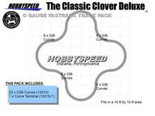 LIONEL FASTRACK CLASSIC CLOVER DELUXE around tree track 12015 pack 10x10' NEW