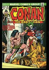 Conan The Barbarian #34 VF/NM 9.0 White Pages Marvel Comics