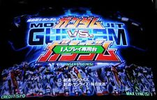 Mobile Suit Gundam VS Gundam Disk & Dongle Soft kit Video Arcade Game Capcom
