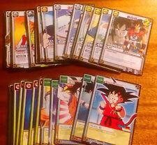 Lote 30 cromos SIN REPETIR baraja Dragon Ball JCC Juego de Cartas Coleccionables