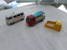 Corgi Toys Konvolut Commer Ton Chassis Ambulance + Pick up Truck + Milk Float