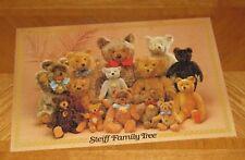 Steiff Family Tree History of the Teddy Bear vtg 1982 Jumbo Holland - Assembled