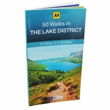 AA 50 Walks in The Lake District 2 to 10 Miles 2017 Edition Handy Size Book
