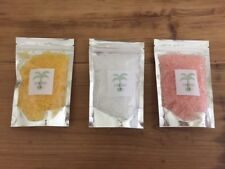 SCENTED BATH SALTS - GREAT GIFT - CHOOSE FROM 50 SCENTS - EPSOM/ROCK SALT.