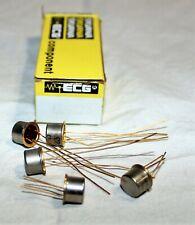 ECG123A Transistor NPN Silicon TO-18 200MA 40-75V - (qty. 5)