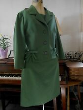 New listing Vintage early 1960's Modell Haus Fine Wool gorgeous Suit Jacket Skirt 38-30-40