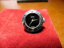 VINTAGE SWANK SWISS MOVEMENT WATCH SINGLE CUFFLINK
