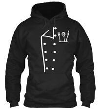 Chef Black Gildan Hoodie Sweatshirt