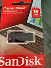 SanDisk 16GB Cruzer Blade USB Flash Drive Thumb Pen Memory Stick SDCZ50 picture