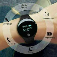Smart Watch Mens Womens Bracelet OLED Touch Screen Quartz Digital Pedometer US