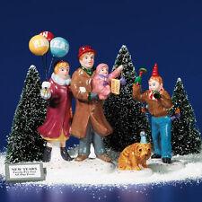 Snow Village 'HAPPY NEW YEAR' ACCESSORY #56.55124 *NIB*