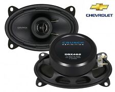 CRUNCH 6x4 COAXIAL SPEAKERS FOR CHEVROLET Aveo (T250) - 2006-2011 PERFECT FIT