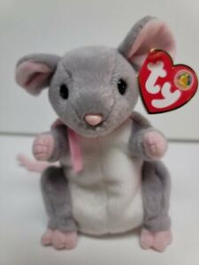 """Ty Beanie Babies-Breadcrumbs The Mouse-MWMT-BBOM-Tiny Treasure-6"""""""