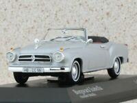 BORGWARD Isabella - 1959 - silver - Minichamps 1:43