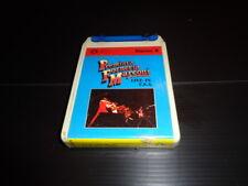 """"""" Live in U.S.A."""" Premiata Forneria Marconi Cassetta Stereo 8 Numero 1"""