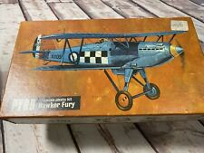 Hawker Fury Pyro 1/48 p608-100 Model Kit Conts Sealed