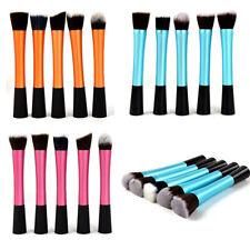 5pcs/set Professional Powder Blush Brushes Makeup Starter Kit Real Techniques