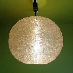 1960s 1970s Vintage REID ROTAFLEX Sugarball lamp light shade Danish Modern Gplan
