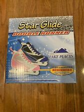 Lake Placid Starglide Girl's Double Runner Figure Ice Skate (Y12)