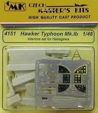 CMK 1/48 Hawker Typhoon Mk. IB Interior Set Para Hasegawa # 4151