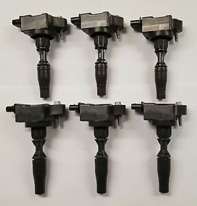 New GM OEM Ignition Coil Set of 6 Fits Lacrosse ATS CT6 CTS XT5 Camaro 12666339