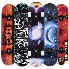 Skateboard Deck Funboard Holzboard Komplett Skate Board Ahornholz 31/32,5'' Neue