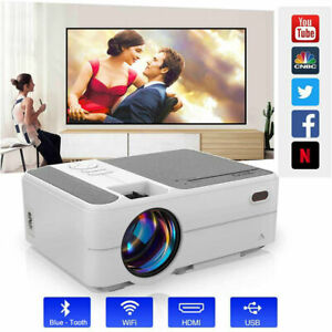 3500lms Full HD Projector Blue-tooth Smart Home Theater Wireless for Youtube AU