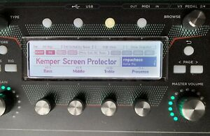 Kemper Plexiglass Display - Screen Protector for Remote Rack Stage Head Profiler