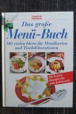 DAS große MENÜ Buch Kochbuch essen & trinken m SAISON Menu Rezepten,kochen Salat