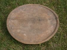 ANTIQUE PRIMITIVE WOODEN OTTOMAN DINNING TABLE