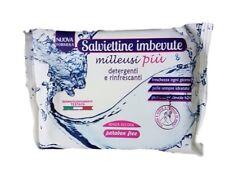 Confezione Salviettine Salviette Imbevute MilleusiPiù Detergenti Rinfrescant dfh