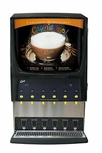 Wilbur Curtis G3 System 6 Station Commercial Cappuccino Machine