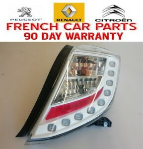 TOYOTA YARIS TAIL LIGHT RIGHT DRIVERS SIDE REAR WHITE INSERT 2011-2014