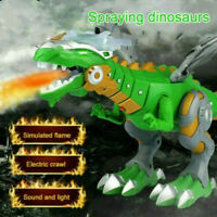 Kids Christmas Gift Walking Dragon Toy Fire Breathing Water Spray Dinosaur Toys
