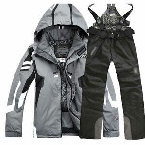 Men's Winter Outdoor Coat Ski Suit Snowboard Clothing Snowsuit Jacket & Pants