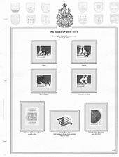Dominion Canada Stamp Album-B&W-3-ring-New-232 Page, 2010-2016-40% off