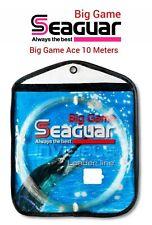 Seaguar BIG GAME ACE Fluorocarbon Invisible LEADER Line 10m Coils 66lbs-500lb