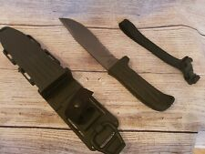 Mission mpk 12 ti combat knife new with box kydex sheath rubber leg strap