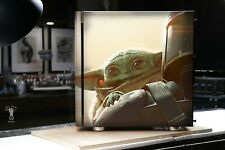 EXCLUSIVE - CUSTOM Airbrush Baby Yoda Corsair Carbide 275R Mid-Tower Case