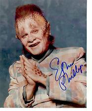 Star Trek Voyager hand signed 8X10 Ethan Phillips Neelix Autograph alien actor !