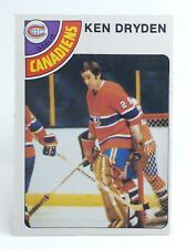 1978-79 Ken Dryden #50 Montreal Canadiens OPC O Pee Chee Ice Hockey Card H378