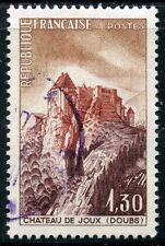 STAMP / TIMBRE FRANCE OBLITERE  N° 1441 CHATEAU DE JOUX
