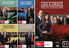 Law And Order SVU Series: SEASON 7, 8, 9, 10 & 11 : NEW DVD