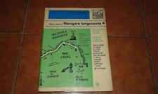 MANCINI NAVIGARE LUNGOCOSTA 4 RIVIERA LIGURE E COSTA AZZURRA FARI PORTO MAPPA 79