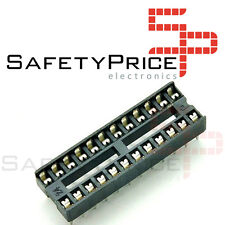 5x Zocalo integrado 24 PINs DIP 24 Socket doble contacto