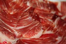 Jamon Iberico Guijuelo cortado a mano loncheado - Iberian Ham sliced Jamón