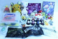 Nintendo Pokémon Art panel Plush Doll Figure Keychain Lot of 39 set Japan