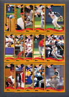 2002 Topps Cincinnati Reds TEAM SET